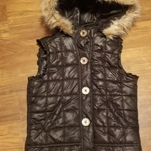 Justice puffy vest